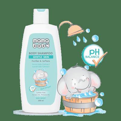 شامپو کرمی بدن نوزاد - کمپین مامابیبی