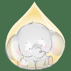 فیلی در قطره